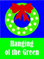 Hanging of the Green logo