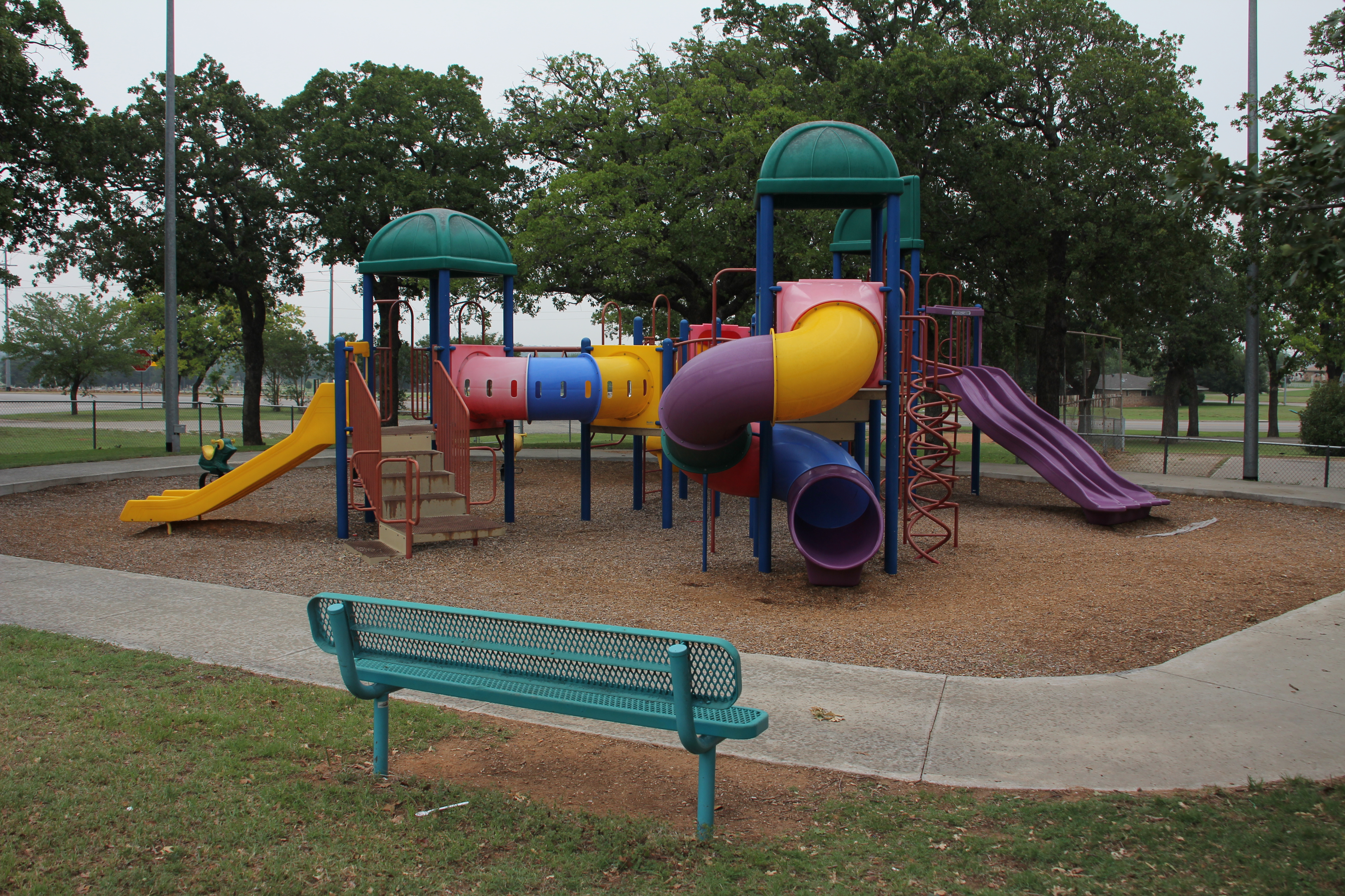 Playground Area At Pelham Park