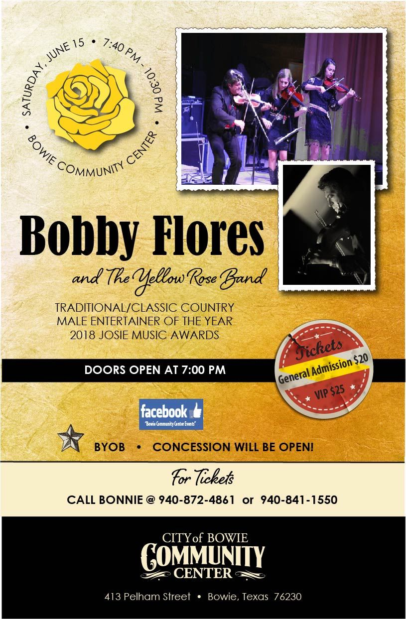 Bobby Flores poster