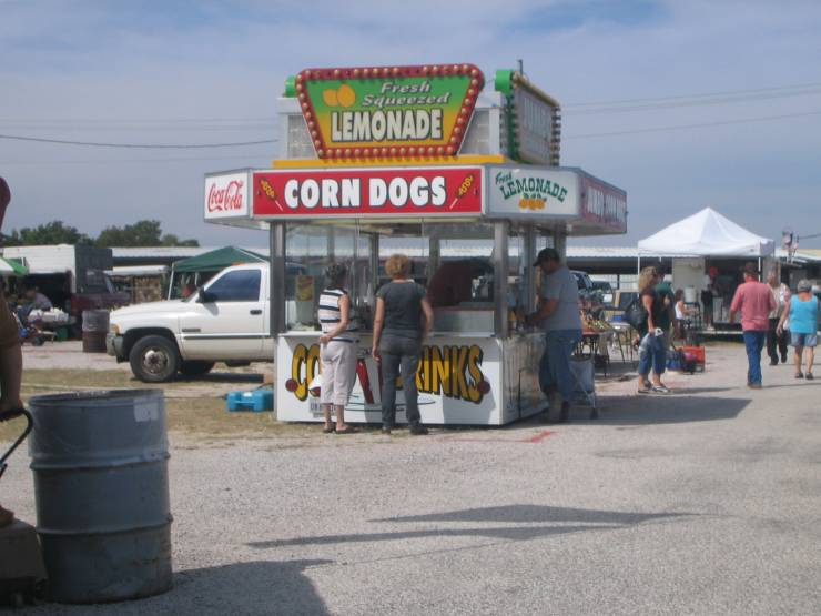 Corn dogs for sale